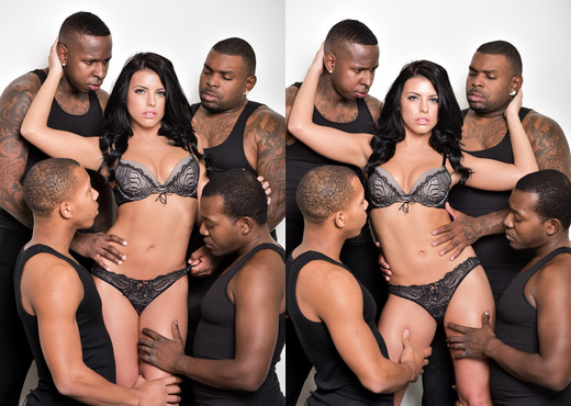 Adriana Chechik black gangbang - DarkX - Interracial TGP