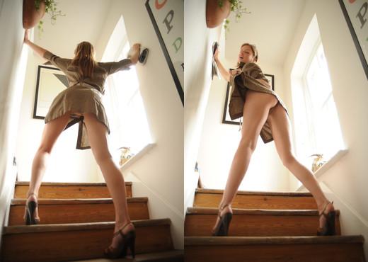 Nikki - Unbuttoned - BreathTakers - Solo Nude Gallery