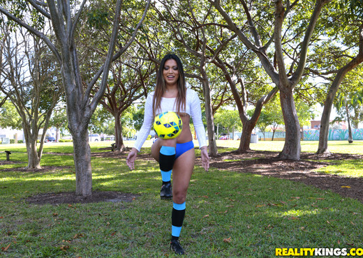 Nicole Ray - Soccer Sucker - 8th Street Latinas - Latina Sexy Gallery