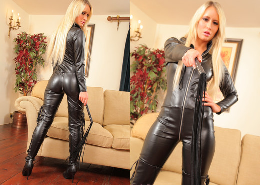Candice Catsuit - Strictly Glamour - Solo Sexy Photo Gallery
