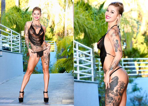 Will Powers & Kleio Valentien - Throated - Blowjob Sexy Gallery