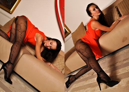 Sophia Smith - Wowzer - Sophia's Sexy Legwear - Solo Sexy Gallery