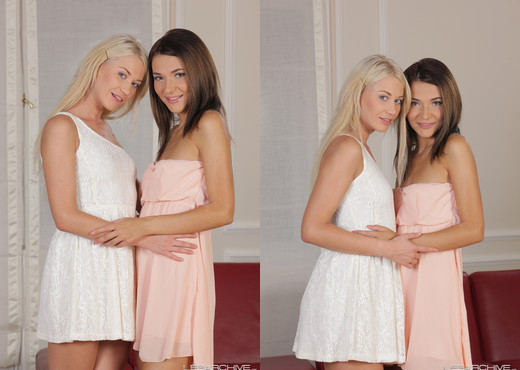 LesArchive - Adrienn and Olga - Lesbian Nude Gallery