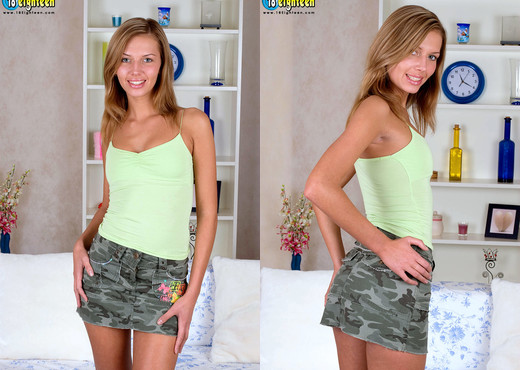 Karine - Pretty & Puffy - 18eighteen - Teen Image Gallery