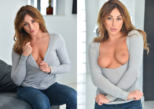 Christiana - Sheer Leggy Hotness - FTV Milfs - MILF Porn Gallery