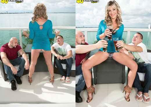 Brandi Fox - Two for Brandi - 40 Something Mag - MILF Image Gallery