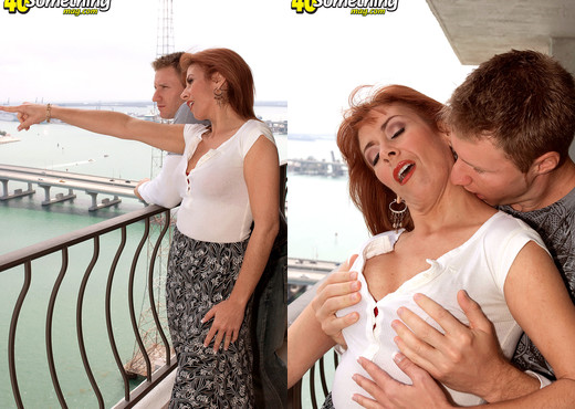 Mikela Kennedy - Look, Up In The Sky! Its A Milf! - MILF Hot Gallery