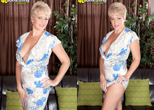 Tracy Licks - Tracy And The Magic Dildo - 40 Something Mag - MILF Image Gallery