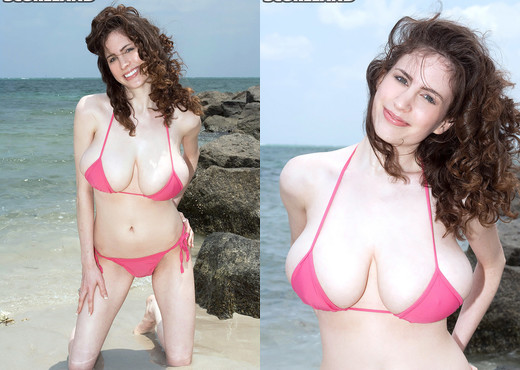 Lillian Faye - On The Rocks - ScoreLand - Boobs Image Gallery