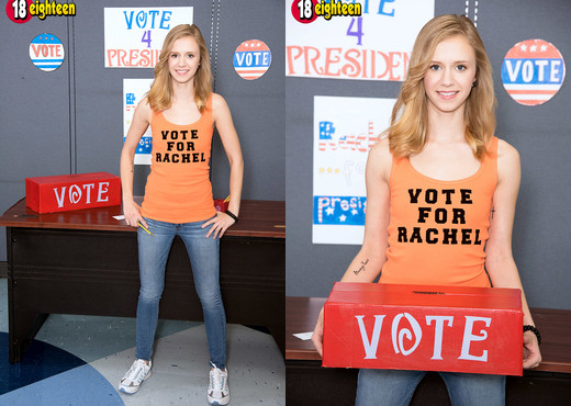 Rachel James - Vote For Flattie - 18eighteen - Teen HD Gallery