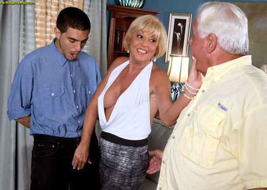 Scarlet Andrews - Swinging At 65 - Naughty Mag - Amateur Nude Pics