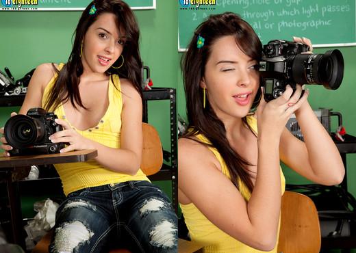 Natalie Heart - Horny Shutterbug - 18eighteen - Teen Image Gallery