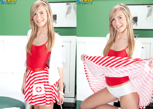 Chloe Brooke - Chloe Nurses Your Cock - 18eighteen - Teen Image Gallery
