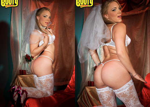 Kirra Lynne - Here Cums The Bride - Bootylicious Mag - Ass Sexy Gallery