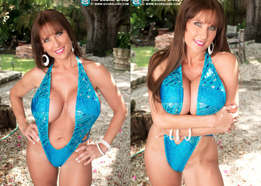 Shelby Gibson - Stacked In Swimsuits - ScoreLand - Boobs Nude Gallery
