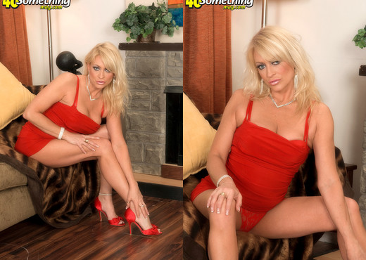 Natasha - Blonde Fuck Doll - 40 Something Mag - MILF Image Gallery