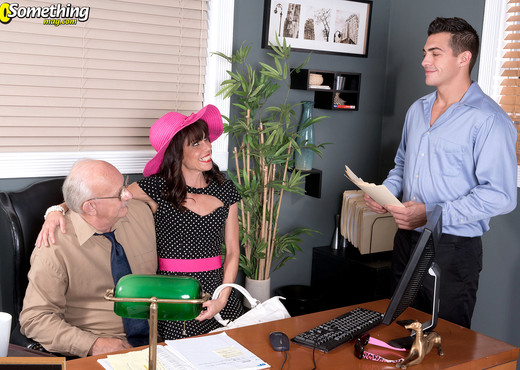 Sage Quest - Sage Fucks While Her Husband Watches - MILF TGP