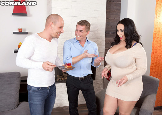 Anastasia Lux - Three On A Sex Spree - ScoreLand - Boobs Sexy Photo Gallery