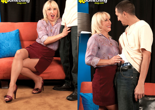 Andi Roxxx - Andi Gets Our Roxxx Off! - 40 Something Mag - MILF Porn Gallery