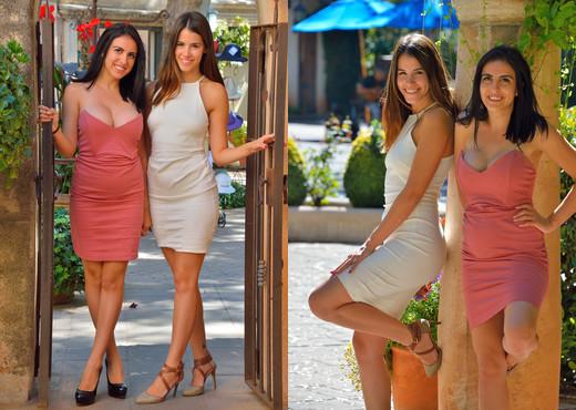 Saraya & Chloe - In The Spotlight - FTV Girls - Lesbian Nude Pics