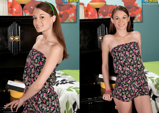 Kaci Lynn - Skinny & Stuffed - 18eighteen - Teen HD Gallery