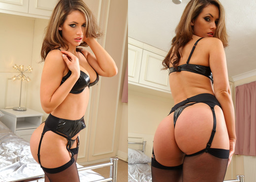 Anastasia - A Pvc Set - Strictly Glamour - Solo HD Gallery