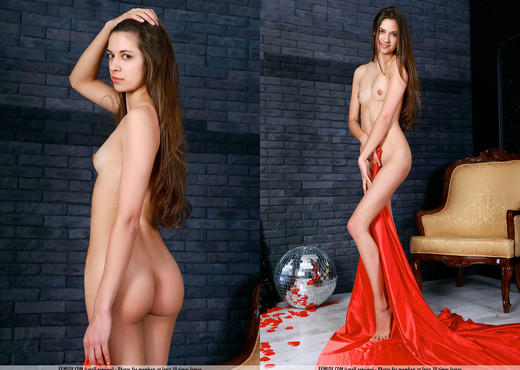 Red - Dina V. - Femjoy - Solo Image Gallery