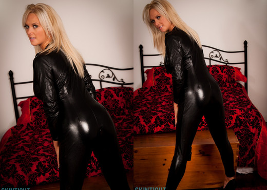 Emma B Catsuit - Skin Tight Glamour - Solo Sexy Gallery