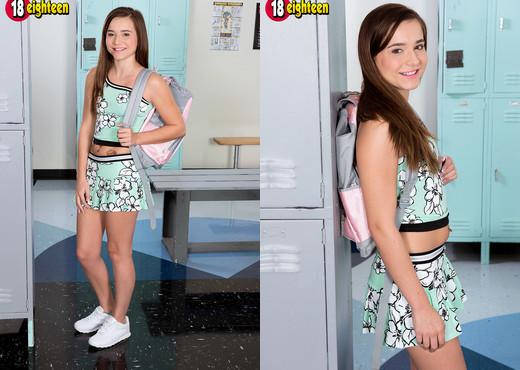 Kharlie Stone - Locker Room Lust - 18eighteen - Teen Picture Gallery