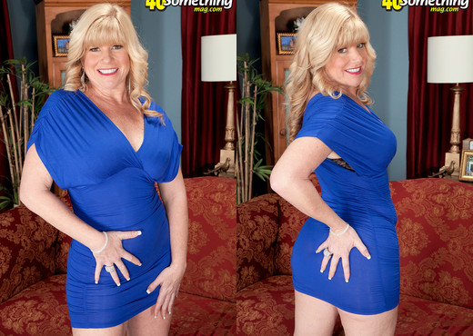 Dawn Jilling - Devil In A Blue Dress - 40 Something Mag - MILF Sexy Photo Gallery