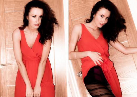 Sophia Smith - Hey Fellas - Sophia's Sexy Legwear - Solo Hot Gallery