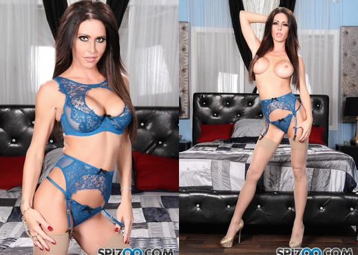 Jessica Blue Times - Jessica Jaymes tease - Spizoo - Solo Image Gallery