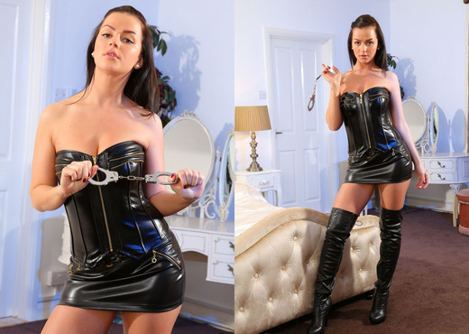Holly Leather Skirt - Strictly Glamour - Solo Hot Gallery