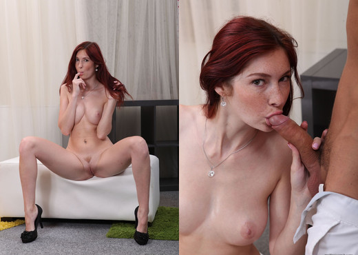 We Like To Suck - Dirty Kattie slurps on a meat stick - Hardcore Porn Gallery