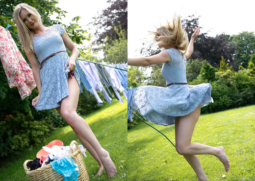 Sam Tye - Sam Laundry - Hayley's Secrets - Solo Nude Gallery