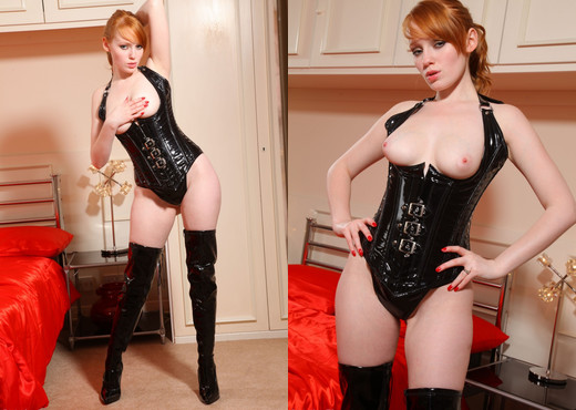 Charlie - Kk Pvc - Strictly Glamour - Solo Hot Gallery