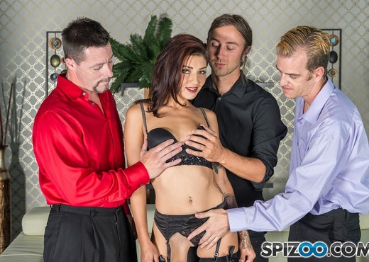 Aimee Likes Cocks - Aimee Black loves to suck cocks - Spizoo - Hardcore Image Gallery