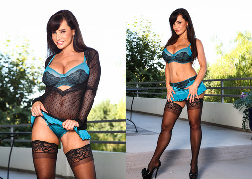 Lisa Ann - Throated - Blowjob Hot Gallery