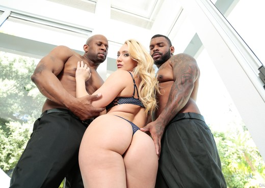 Rico Strong, Prince Yahshua & AJ Applegate - DarkX - Interracial Image Gallery