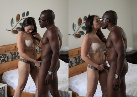 Chubby Stephanie Saint Loves It In All Holes - Interracial Hot Gallery
