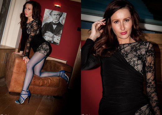 Sophia Smith - Mystify - Sophia's Sexy Legwear - Solo Porn Gallery