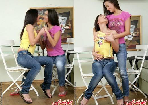 Lesbian Sex with Amber & Tasha - Lez Cuties - Lesbian Hot Gallery
