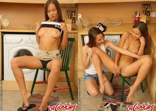 Bailey & Sanna Playing Lesbians - Lez Cuties - Lesbian Sexy Photo Gallery
