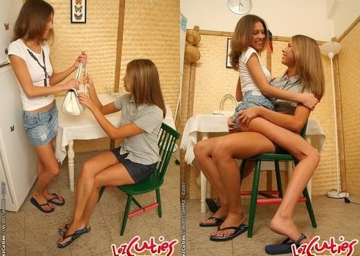 Natalia & Ally N. Eating Pussy - Lez Cuties - Lesbian Image Gallery