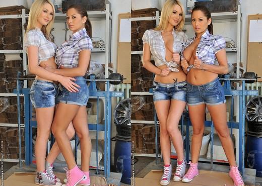 Horny Lesbian Threesome with Alison Star, Antonya & Patricia - Lesbian Sexy Photo Gallery