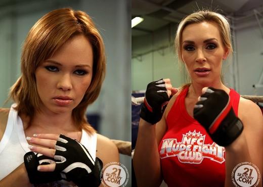 Tanya Tate VS Nikita - Lesbian Picture Gallery