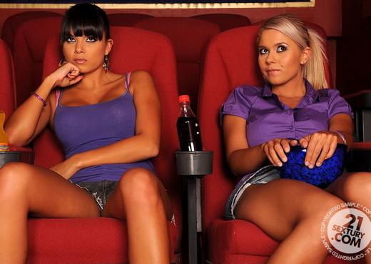 Jacline, Sasha Cane - 21 Sextury - Lesbian TGP