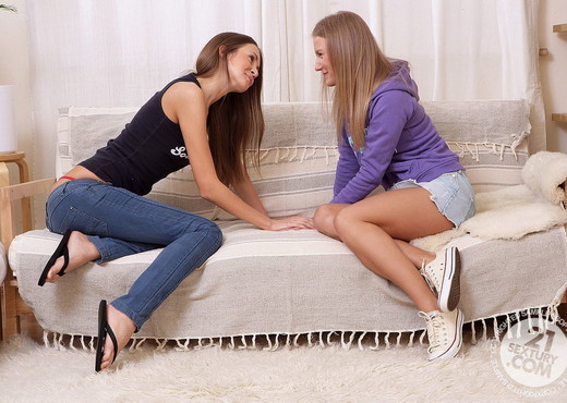 Sweet Lana, Malia - 21 Sextury - Lesbian Sexy Photo Gallery