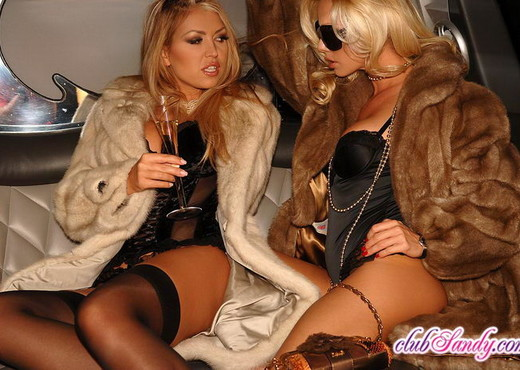Bridgett, Sandy - Club Sandy - Lesbian Sexy Photo Gallery