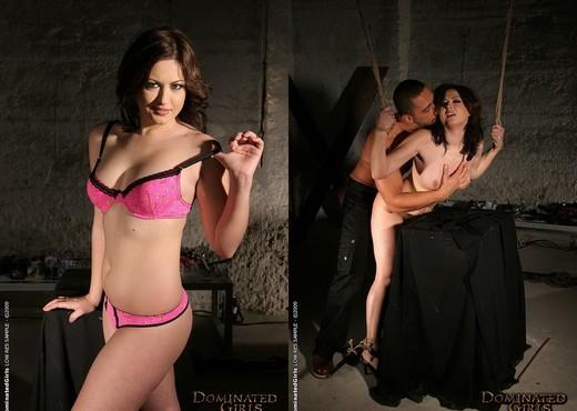 Hogtied Safira White Fucked - BDSM Sexy Photo Gallery